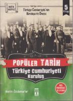 Popüler Tarih - Türkiye Cumhuriyeti Kuruluş 5 Kitap