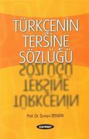 Türkçenin Tersine Sözlüğü