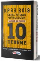 Yediiklim KPSS Genel Yetenek Genel Kültür Tamamı Çözümlü 10 Fasikül Deneme-YENİ