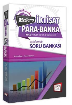 657 KPSS A Makro İktisat Para Banka İktisat Soru Bankası