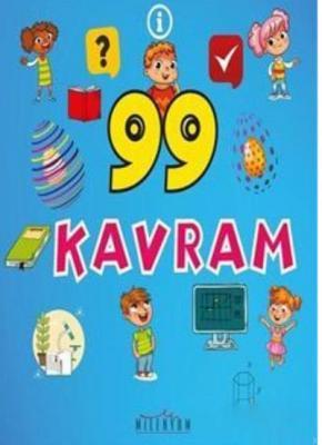 99 Kavram Türkçe-İngilizce - Spiralli