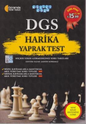 Akıllı Adam DGS Harika Yaprak Test Akıllı Adam Yayınları Komisyon