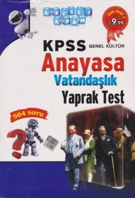 Akıllı Adam KPSS Genel Kültür Anayasa Vatandaşlık Yaprak Test