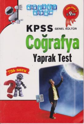 Akıllı Adam KPSS Genel Kültür Coğrafya Yaprak Test