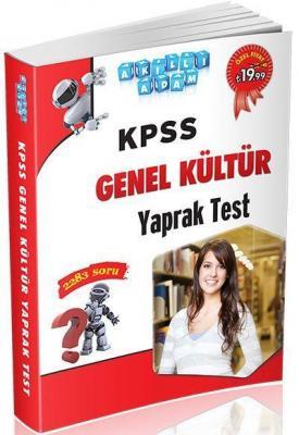 Akıllı Adam KPSS Genel Kültür Yaprak Test