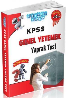 Akıllı Adam KPSS Genel Yetenek Yaprak Test