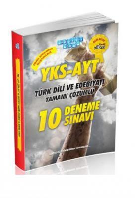 Akıllı Adam YKS-AYT Türk Dili ve Edebiyatı Tamamı Çözümlü 10 Deneme Sınavı