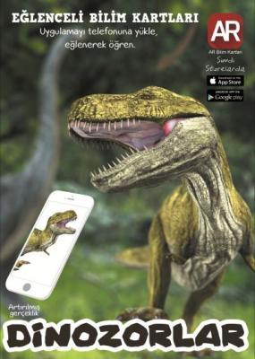 AR Bilim Kartları-Artırılmış Gerçeklik Dinozor Kartları