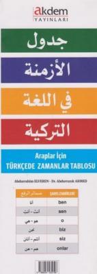 Araplar İçin Türkçede Zamanlar Tablosu
