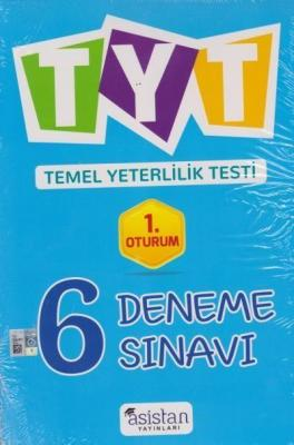 Asistan TYT 6 Deneme Sınavı 1. Oturum-YENİ
