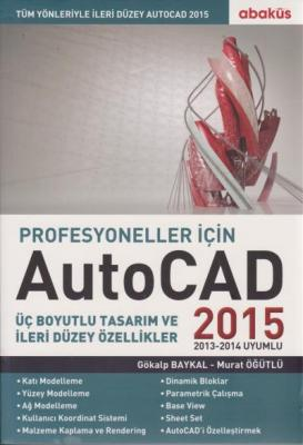 Autocad 2015 Profesyoneller İçin