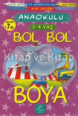 Bol Bol Boya / 3-4 Yaş