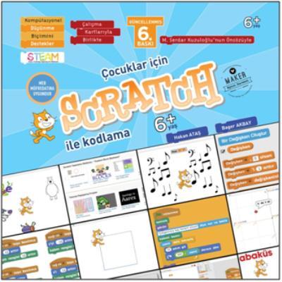Çocuklar İçin Scratch İle Programlama 6+ Yaş-Kartlı