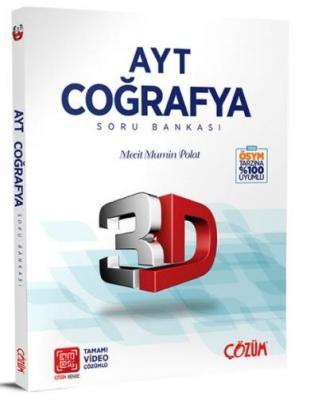 Çözüm AYT 3D Coğrafya Soru Bankası-YENİ