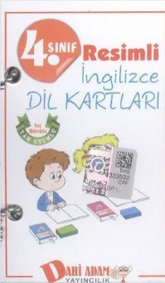 Dahi Adam 4. Sınıf Resimli İngilizce Dil Kartları