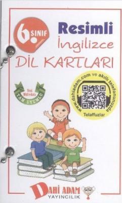 Dahi Adam 6. Sınıf Resimli İngilizce Dil Kartları