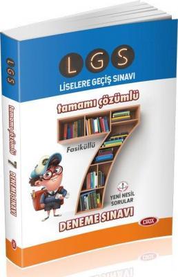Data LGS Tamamı Çözümlü 7 Deneme Sınavı-YENİ