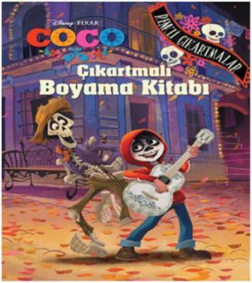 Disney Coco Çıkartmalı Boyama Kitabı