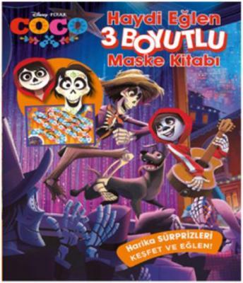 Disney Coco Haydi Eğlen 3 Boyutlu Maske Kitabı