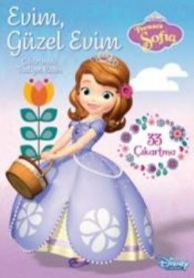 Disney Prenses Sofia Evim Güzel Evim Çıkartmalı Faaliyet Kitabı