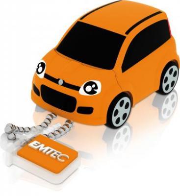 Emtec F102 Fiat Panda Turuncu 8GB Usb2.0