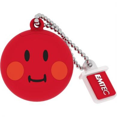 Emtec SW102 8GB USB Bellek Smiley Red Emtec