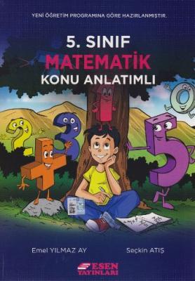 Esen 5. Sınıf Matematik Konu Anlatımlı Seçkin Atış