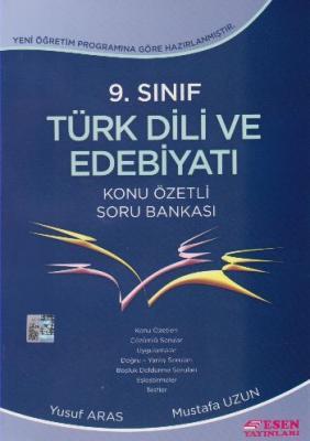 Esen 9. Sınıf Türk Dili ve Edebiyatı Konu Özetli Soru Bankası Yusuf Ar