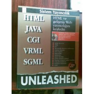 HTML JAVA CGI VRML SGML - UNLEASHED : HTML ve gelişmiş Web yayıncılığı