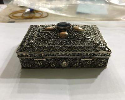 Elişi Gümüş Kutu Gümüş Tura
