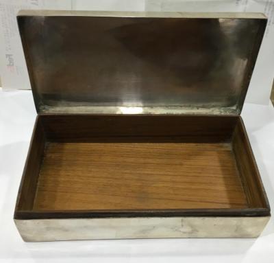 Savatlı Gümüş Kutu Gümüş Tura