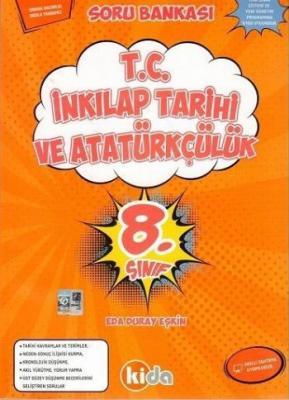 Kida 8. Sınıf T.C. İnkılap Tarihi ve Atatürkçülük Soru Bankası-YENİ