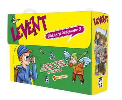 Levent Türkiye'yi Geziyorum - 3 ( 5 Kitap Set )