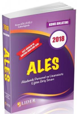 Lider ALES Konu Anlatımı 2018