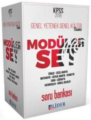 Lider KPSS Genel Yetenek Genel Kültür 5 Kitap Soru Bankası Modüler Set-YENİ