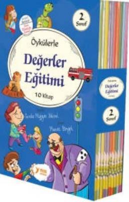 Öykülerle Değerler Eğitimi 10 Kitap (2. Sınıflar İçin)