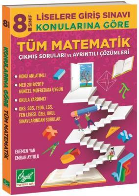 Özgül 8. Sınıf Konularına Göre Matematik Çıkmış Sorular ve Çözümleri-YENİ