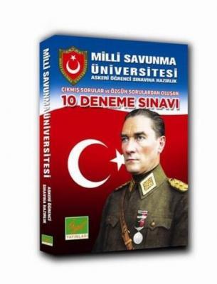 Özgül Milli Savunma Üniversitesi Askeri Öğrenci Sınavına Hazırlık 10 Deneme Sınavı-YENİ