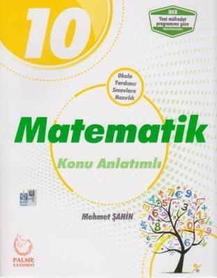Palme 10. Sınıf Matematik Konu Anlatımlı-YENİ