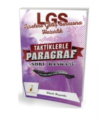Pelikan 8. Sınıf LGS Taktiklerle Paragraf Soru Bankası