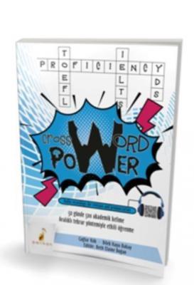 Pelikan Crossword Power 50 Günde 500 Akademik Kelime