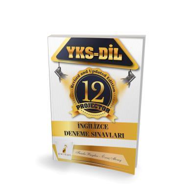 Pelikan YKS-DİL İngilizce Projector 12 Deneme Sınavı