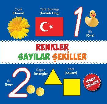 Renkler-Sayılar-Şekiller Türkçe-İngilizce