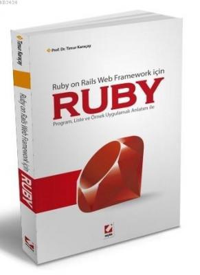 Ruby on Rails Web Framework içinRUBY Program, Liste ve Örnek Uygulamalı Anlatım ile