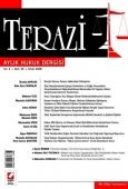 Terazi Aylık Hukuk Dergisi Sayı:25 Eylül 2008