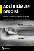 Adli Bilimler Dergisi – Cilt:5 Sayı:1 Mart 2006