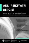 Adli Psikiyatri Dergisi – Cilt:2 Sayı:4 Ekim 2005