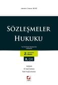 Yargıtay İçtihatlı – Açıklamalı Sözleşmeler Hukuku<br /> <br />   (Yeni Türk Borçlar Kanununa Göre Yenilenmiştir) (2 Cilt)