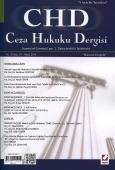 Ceza Hukuku Dergisi Sayı:27 –  Nisan 2015
