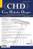 Ceza Hukuku Dergisi Sayı: 38 – Aralık 2018